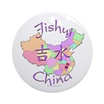 Jishui China Map Ornament (Round)