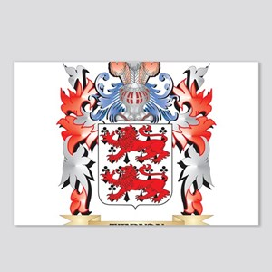 Tiernan Coat of Arms - Fa Postcards (Package of 8)