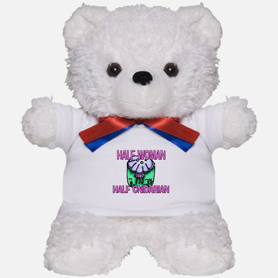 Half Woman Half Cnidarian Teddy Bear