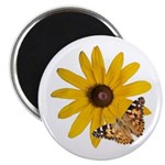 Painted Lady and Black-Eyed Susan Magnet