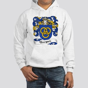 Bourgeois Family Crest Hooded Sweatshirt