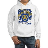 Bourgeois family crest Light Hoodies