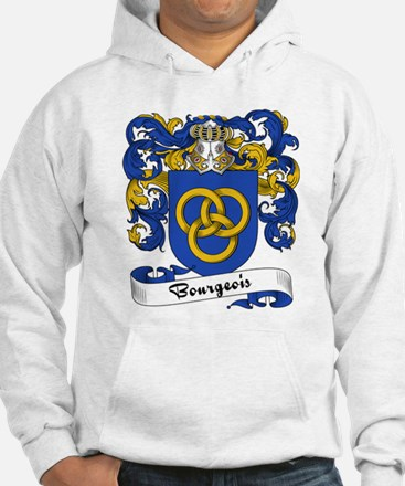 Bourgeois Family Crest Hoodie