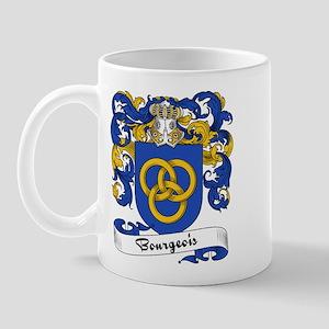 Bourgeois Family Crest Mug