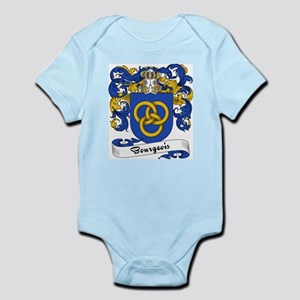 Bourgeois Family Crest Infant Creeper