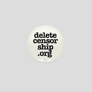 Delete Censorship Mini Button