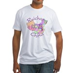 Ruichang China Map Fitted T-Shirt