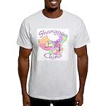 Shanggao China Map Light T-Shirt
