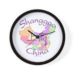 Shanggao China Map Wall Clock
