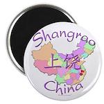Shangrao China Map Magnet