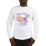 Shangrao China Map Long Sleeve T-Shirt