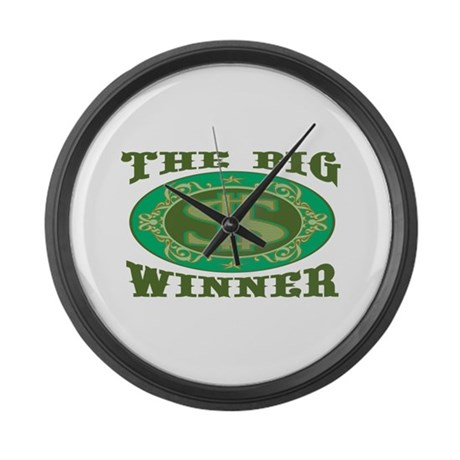 The Big Winner Giant Clock