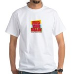 Feed Your Brain White T-Shirt