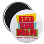 """Feed Your Brain 2.25"""" Magnet (100 pack)"""