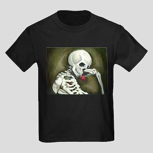 Día de los Muertos Day of the Dead Kids Dark T-Shi
