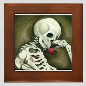 Día de los Muertos Day of the Dead Framed Tile