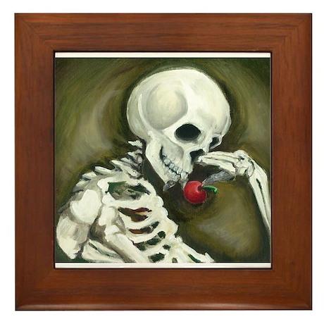 Día de los Muertos Day of the Dead Framed Tile & Day Of The Dead Wall Art - CafePress