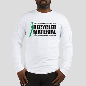 Organ Donor: Recycled Materia Long Sleeve T-Shirt