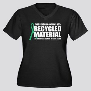 Organ Donor: Recycled Materia Women's Plus Size V-