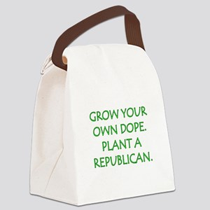Grow your own dope. Plant a Repub Canvas Lunch Bag