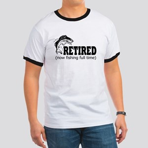 Retired Fishing Shir T-Shirt