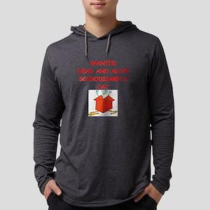 schrodingers cat Long Sleeve T-Shirt