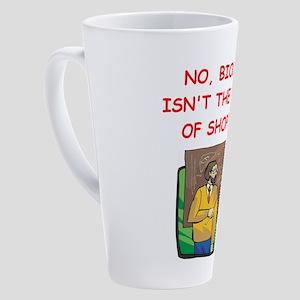 biology 17 oz Latte Mug
