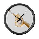 Baseball Gift Large Wall Clock