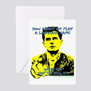 Wittgenstein Yellow Greeting Cards (Pk of 10)