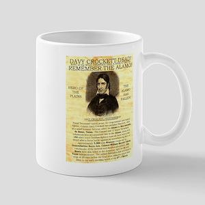 Davy Crockett Mug