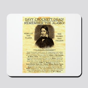 Davy Crockett Mousepad