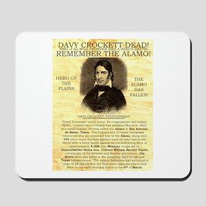 Davy Crockett Mousepad