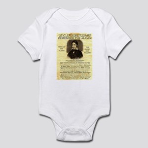 Davy Crockett Infant Bodysuit
