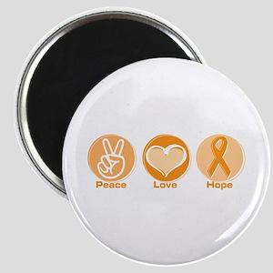 Peace Love Orange Hope Magnet