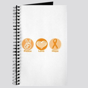 Peace Love Orange Hope Journal