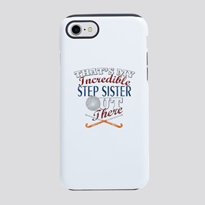 Field Hockey Step Sister &am iPhone 8/7 Tough Case