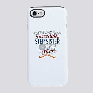 Field Hockey Step Sister or iPhone 8/7 Tough Case