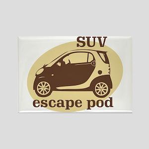 SUV Escape Pod Rectangle Magnet