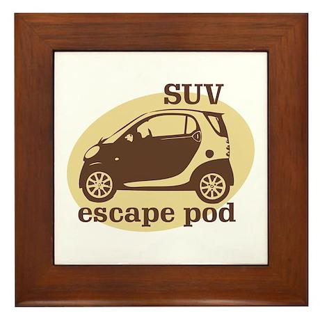 SUV Escape Pod Framed Tile