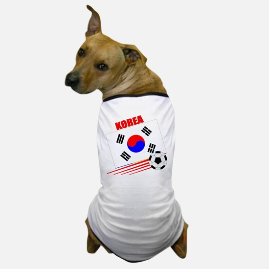 Korea Soccer Team Dog T-Shirt