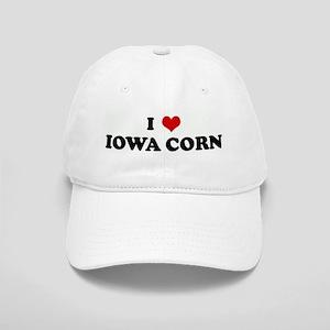 I Love IOWA CORN Cap