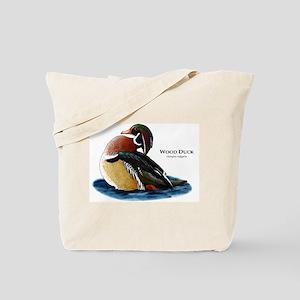 Wood Duck Tote Bag