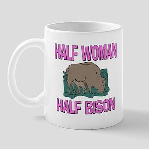 Half Woman Half Bison Mug