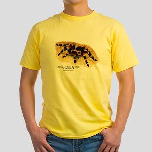Mexican Red-Kneed Tarantula Yellow T-Shirt