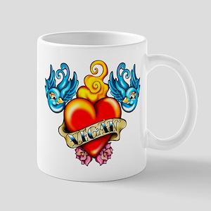 Vegan Heart mug