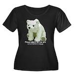 Please Dont Let Me Die Polar Women's Plus Size Sco