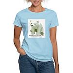 Please Dont Let Me Die Polar Women's Light T-Shirt