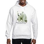 Please Dont Let Me Die Polar Hooded Sweatshirt