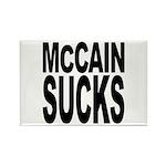 McCain Sucks Rectangle Magnet