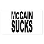 McCain Sucks Rectangle Sticker